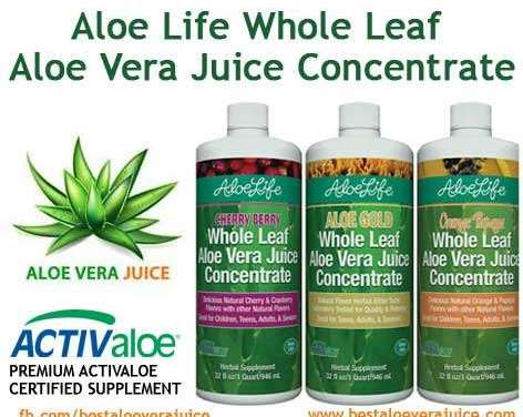 Aloe Life Aloe Vera Juice Concentrate Review