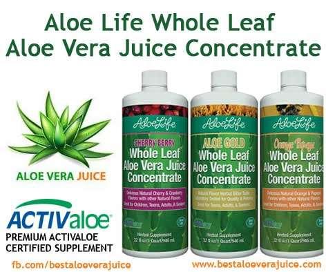 Aloe Life Aloe Vera Juice Concentrate Review