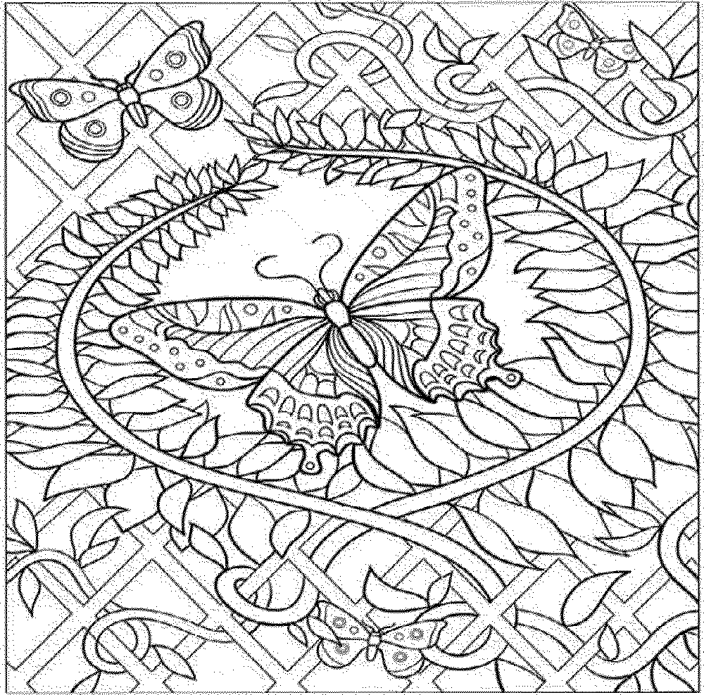 Intricate Adult Coloring Pages