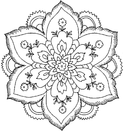 coloring-pages-for-adults-flowers