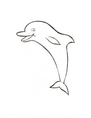 baby-dolphin-coloring-pages
