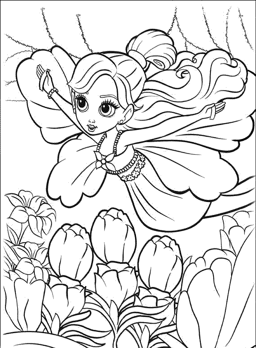 Barbie Coloring Pages For Kids Bestappsforkids