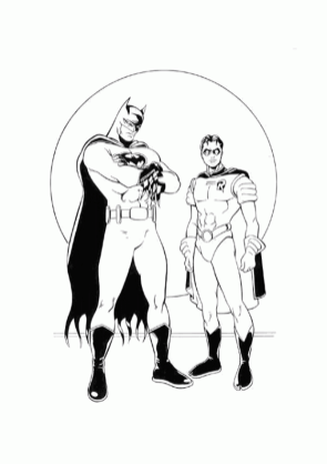 batman-cartoon-coloring-pages