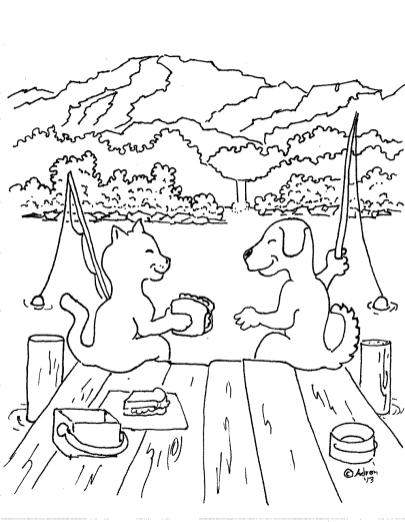cat-dog-friendship-coloring-pages