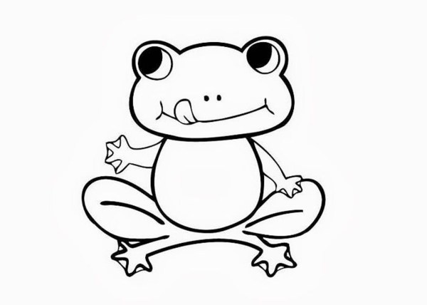 frogs coloring pages # 17