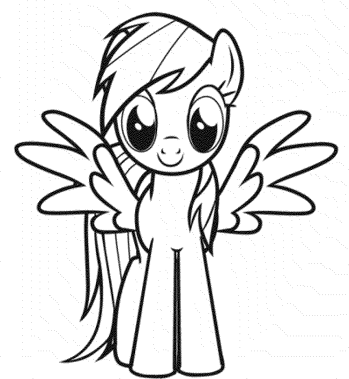 coloring-page-my-little-pony