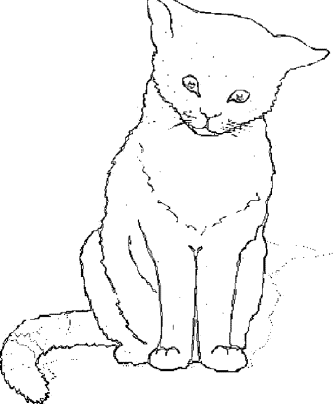 coloring-pages-cats