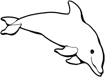 coloring-pages-dolphin