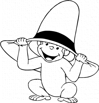 coloring-pages-of-a-monkey