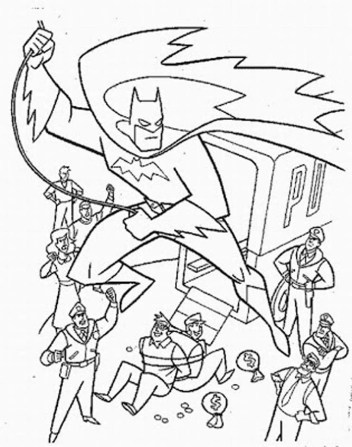 coloring-pages-of-batman