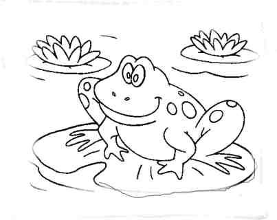 coloring-pages-of-frogs