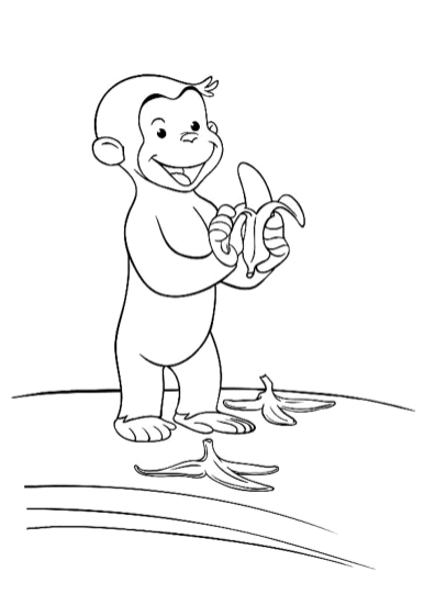 curious-george-eat-banana-coloring-pages-printable-free