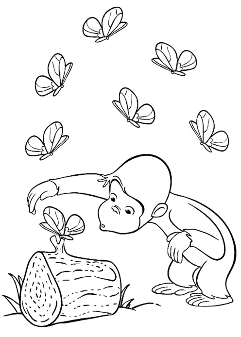 curious-george-with-butterfly-printable-coloring-pages