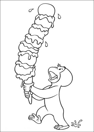 curious-george-with-ice-cream-coloring-pages
