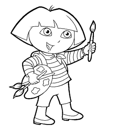 dora-coloring-pages-for-kids-printable-painting