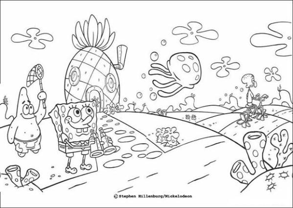 free-coloring-pages-spongebob