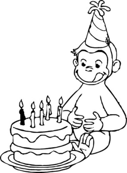 happy-birthday-curious-george-coloring-pages