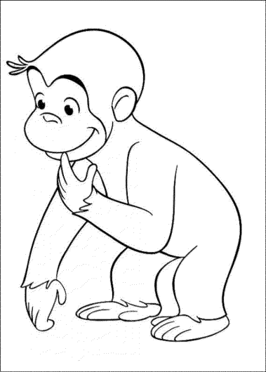 monkey-coloring-pages