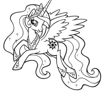 my-little-pony-rarity-coloring-pages