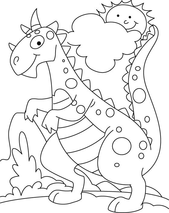 Printable Dinosaur Coloring Pages For Kids