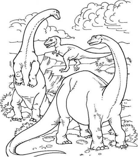 realistic-dinosaur-coloring-pages