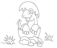 small-dinosaur-coloring-pages