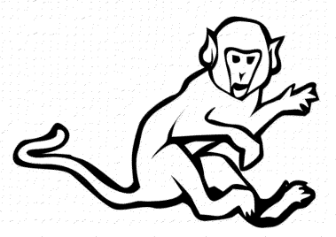sock-monkey-coloring-pages