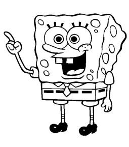 spongebob-coloring-page