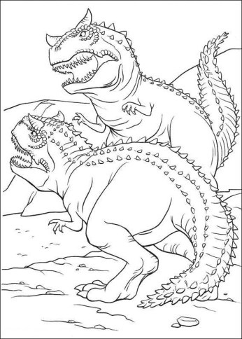 t-rex-dinosaur-coloring-pages-double-printable