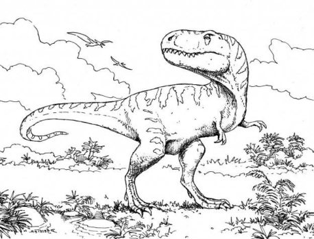 t-rex-dinosaur-coloring-pages-online-printable