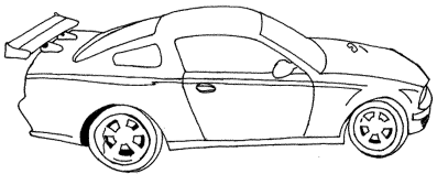 car-coloring-page