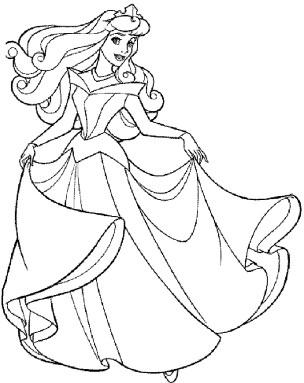cinderella-color-pages