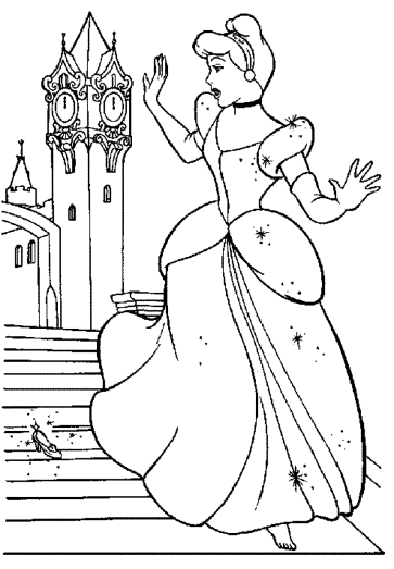 cinderella-loosing-shoes-coloring-pages