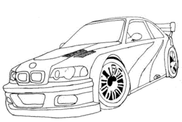 coloring-page-car