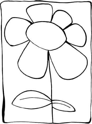 coloring-page-flowers