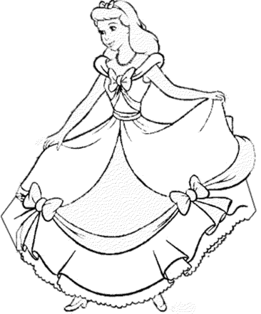 coloring-pages-cinderella