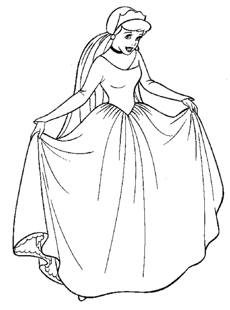 coloring-pages-of-cinderella
