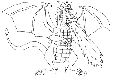 coloring-pages-of-dragons