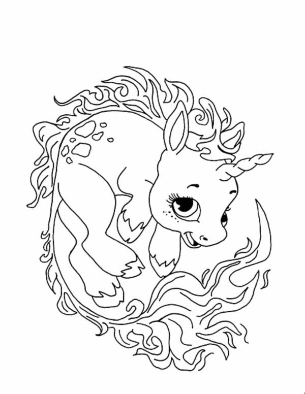 unicorn color pages # 71
