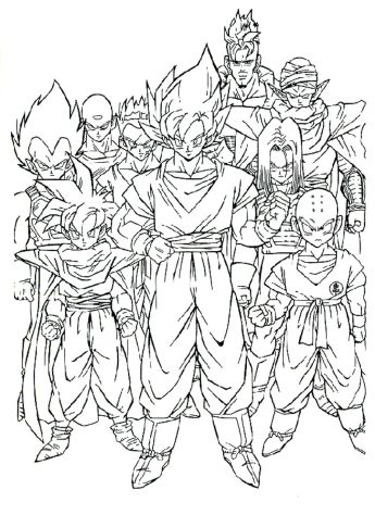dragon-ball-z-coloring-pages-printable