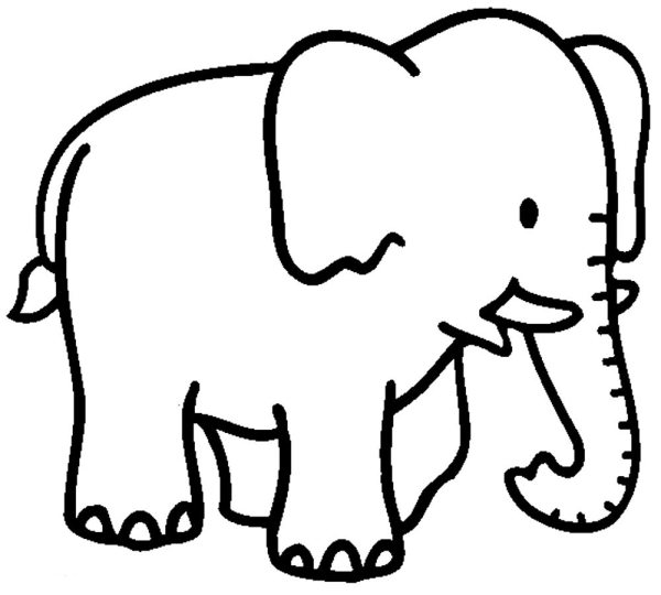 coloring pages of elephants # 13
