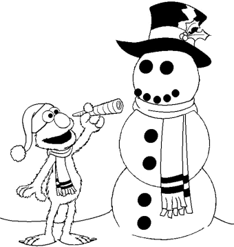 elmo-christmas-coloring-pages