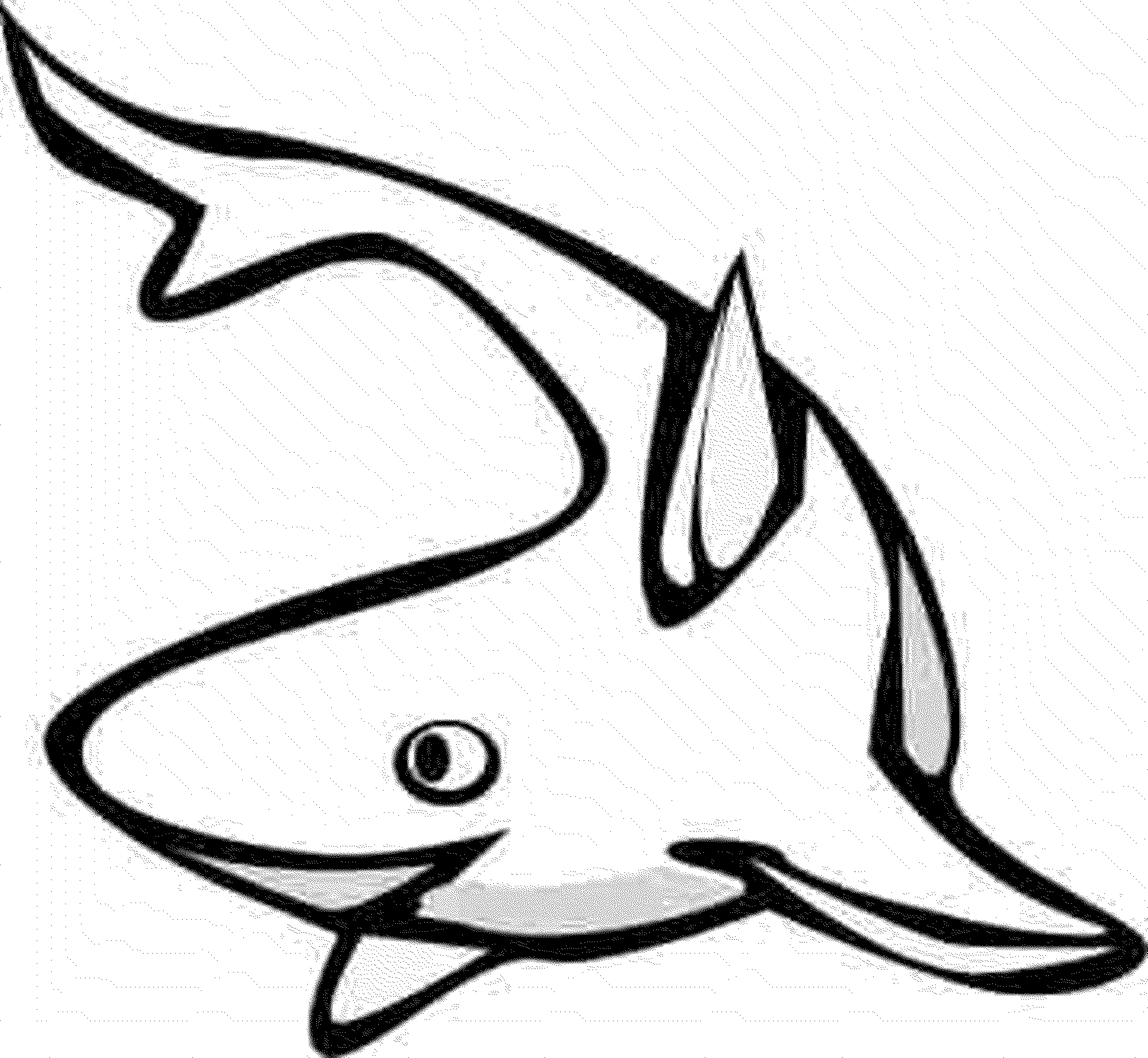 Print Download Cute And Educative Fish Coloring Pages