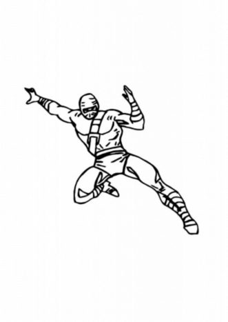 flying-ninja-coloring-pages