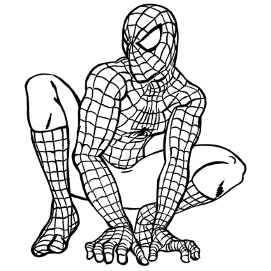 free-coloring-pages-spiderman