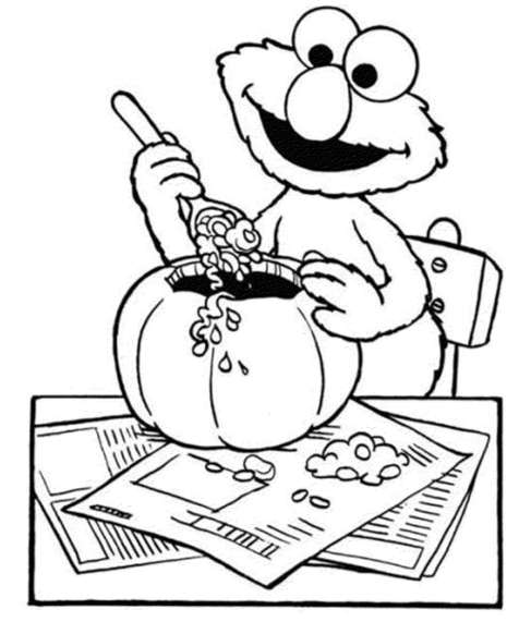 free-elmo-halloween-coloring-pages