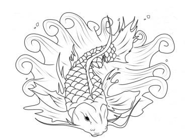 koi-fish-coloring-page