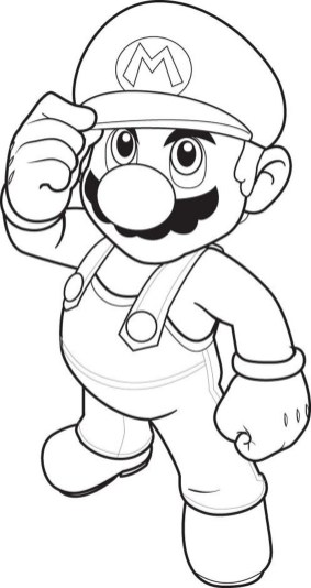 mario-characters-coloring-pages