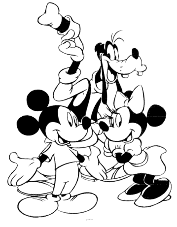 minnie-mouse-and-mickey-mouse-goofy-coloring-pages