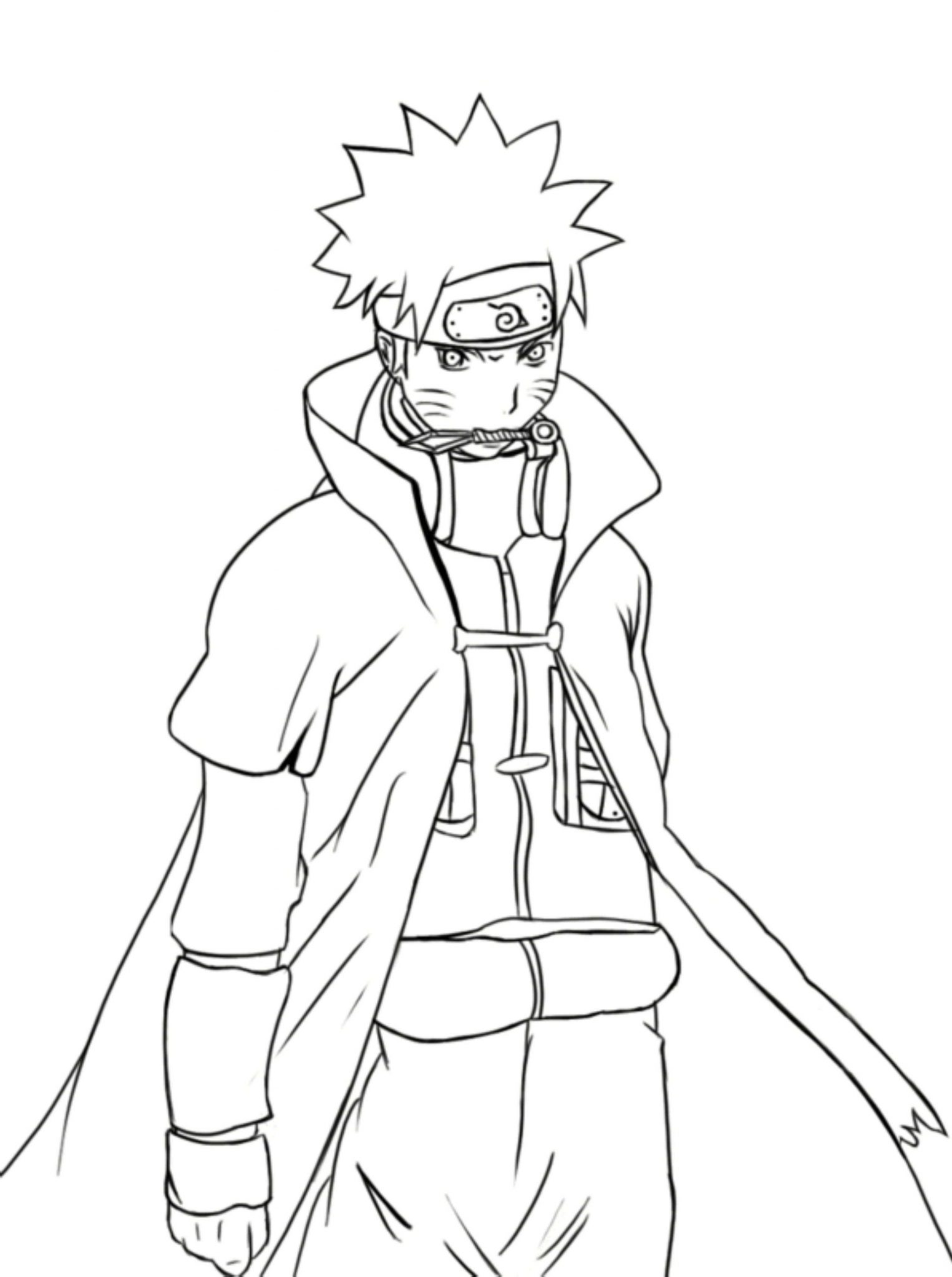 Naruto Shippuden Coloring Pages Free Coloring Pages Download | Xsibe ...
